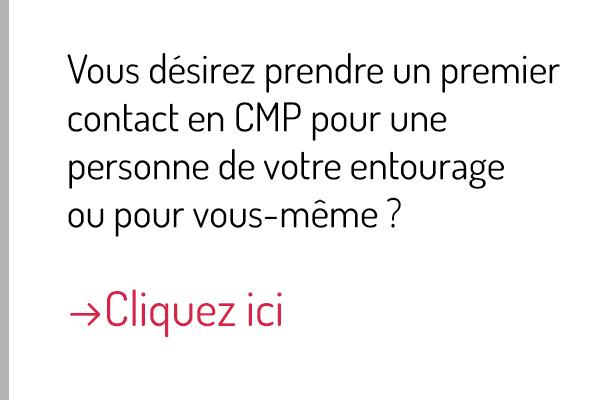 Premier contact / Trouver votre CMP